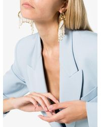 Ellery - Metallic Pearl Fringe Emin Drop Earrings - Lyst