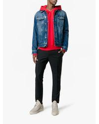 Filling Pieces - Gray Low Top Heel Cap Sneakers for Men - Lyst
