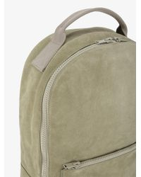Yeezy - Gray Suede Backpack for Men - Lyst