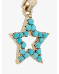 Rosa De La Cruz - Blue Turquoise Star Earrings - Lyst