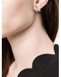 Maria Black - Metallic Triple Stud Earring - Lyst