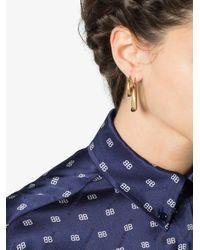 All_blues - Blue Gold Vermeil Fat Snake Earrings - Lyst
