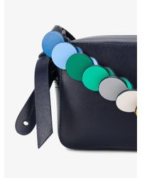 Anya Hindmarch - Blue Circle Mini Cross-body Bag - Lyst