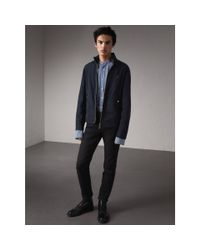 Burberry - Multicolor Lightweight Technical Jacket Ink for Men - Lyst