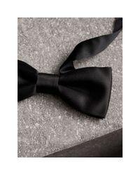 Burberry - Black Classic Silk Bow Tie for Men - Lyst