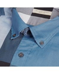 Burberry | Blue Fred Shirt for Men | Lyst