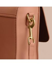 Burberry - Multicolor The Medium Dk88 Satchel Pale Clementine - Lyst