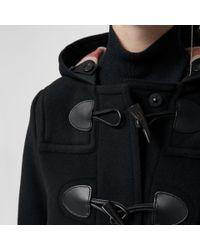 Burberry - Black The Mersey Duffle Coat - Lyst