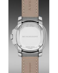 Burberry - Gray The Britain Bby1902 26mm - Lyst