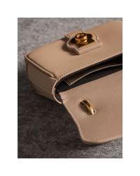 Burberry - Multicolor The Mini Dk88 Top Handle Bag In Honey | - Lyst