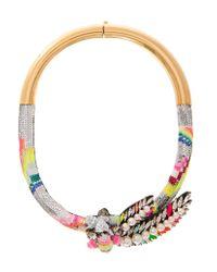 Shourouk | Multicolor Double Zulunecklace | Lyst