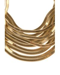 Rosantica | Metallic 'Shiava' Multi Chain Necklace | Lyst