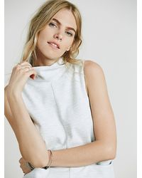 Free People | Gray Womens Getaway Shift Dress | Lyst