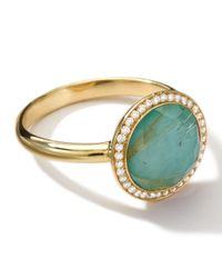 Ippolita | Metallic 18k Gold Rock Candy Lollitini Ring Quartzturquoisediamonds | Lyst