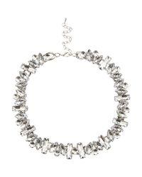 River Island - Metallic Silver Tone Layered Eagle Pendant Necklace - Lyst