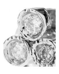 Jacquie Aiche   Multicolor Ja 3 Cz Cluster Earrings Cleargold   Lyst