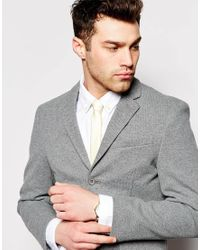 ASOS - Yellow Pastel Tie for Men - Lyst