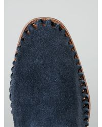 Hudson Jeans - Blue Ramos Navy Suede Slip On Shoes for Men - Lyst