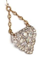 Lulu Frost | Metallic Art Deco Dress Clip Earrings | Lyst