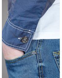 Jean Paul Gaultier | Blue Cropped Jacket for Men | Lyst