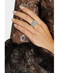 Olivia Collings - Metallic 1940S Platinum Diamond Ring - Lyst