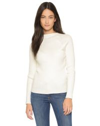 Won Hundred | White Vega Ribbed Sweater | Lyst