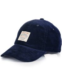 Polo Ralph Lauren | Blue Corduroy Sports Cap for Men | Lyst