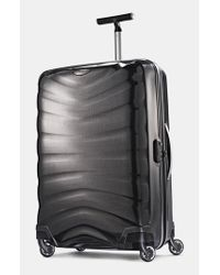 Samsonite | Gray 'firelite' Rolling Suitcase for Men | Lyst