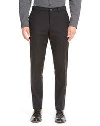 Calibrate - Black Slim Fit Straight Leg Chinos for Men - Lyst