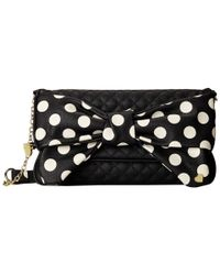 Betsey Johnson | Black Dots Enough Shoulder | Lyst