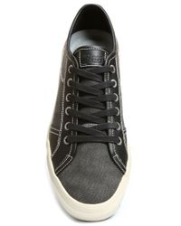 G.H. Bass & Co. | Black Holton Canvas Sneakers for Men | Lyst