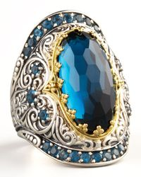 Konstantino | London Blue Topaz Ring | Lyst