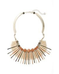 Nakamol | Multicolor Metal Bar Statement Necklace | Lyst