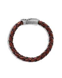 David Yurman - Red Maritime North Star Bracelet for Men - Lyst