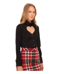 Vivienne Westwood Red Label - Black Classic Poplin Love Shirt - Lyst