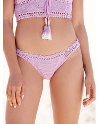 Free People | Purple Cheeky Bottom | Lyst
