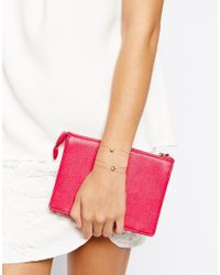 ASOS - Pink Illusion Pastel Stone Bracelet Multi Pack - Lyst