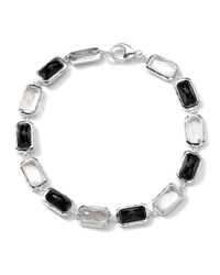 Ippolita | Multicolor Sterling Silver Wonderland All-stone Linear Bracelet In Astaire | Lyst