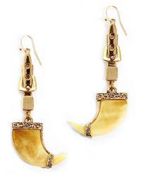 Lulu Frost | Yellow Cleo Earrings | Lyst