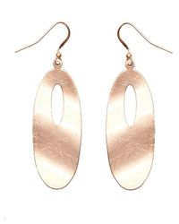 Nakamol | Multicolor Ripple Effect Earrings-copper | Lyst
