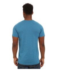 Patagonia | Blue Fitz Roy Crest Cotton/poly T-shirt for Men | Lyst