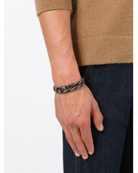 Tod's | Brown Braided Bracelet for Men | Lyst