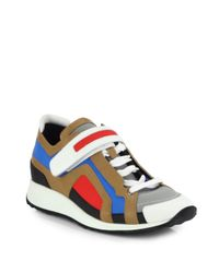 Pierre Hardy | White Multicolored Laceup Sneakers for Men | Lyst