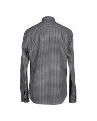 Armani - Gray Shirt for Men - Lyst