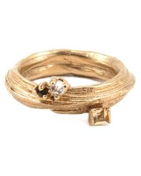Kelly Wearstler | Metallic 'byxbee' Ring | Lyst