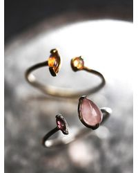 Free People | Pink Ono Jewelry Womens Levitation Ring | Lyst