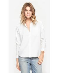 Won Hundred - White Kate Button Down - Lyst