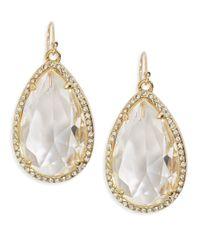 Kate Spade | Metallic Day Tripper Pave Earrings | Lyst