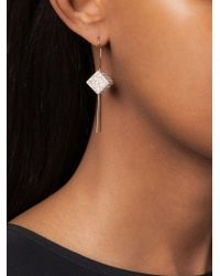 Vita Fede - Metallic 'cubo' Earrings Set - Lyst
