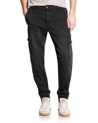 Joe's Jeans - Black Cargo Jogger Pants for Men - Lyst